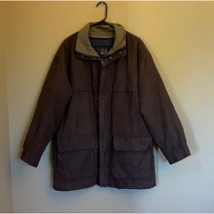 Jos. A. Bank brown lined coat